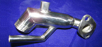 produzione riser/gomiti acciaio 316L